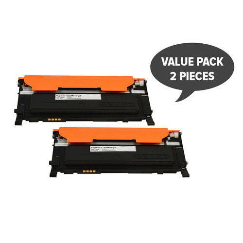 2 x CLT-K409S Black Compatible Toner Cartridge-SET2SA409