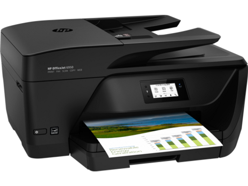 HP T3P03A OfficeJet 6950 AIO Colour Inkjet Printer - Print, Scan, Copy, Fax