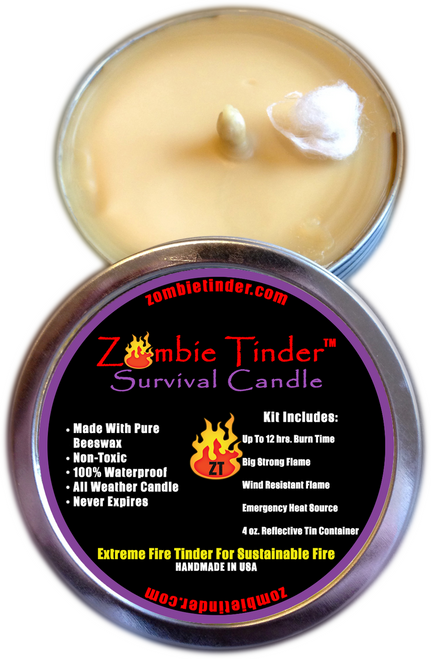 Emergency Survival Candle