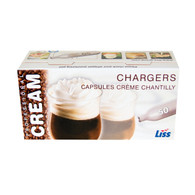 10 Cases of 600 ea LISS 8 Gram Cream Charger Wholesale $ 192 ea