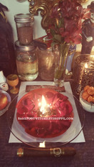 Luv Luv Luv Figural Candle Spell, Performed For You, Forbidden Love, Return Lost Love