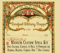 Medium Custom Spell Kit, Customized For Your Needs