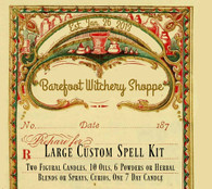 Large Custom Spell Kit, Customized For Your Needs