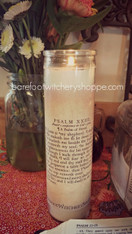 Psalm 23 7 Day Candle