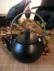 Cast Iron Kettle Incense Burner