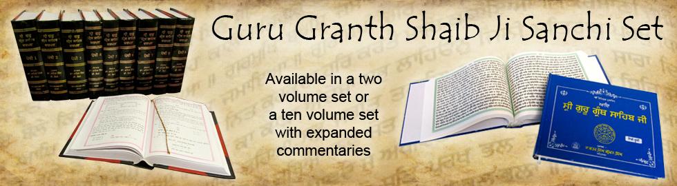 Guru Granth Shaib Ji Sanchi Sets