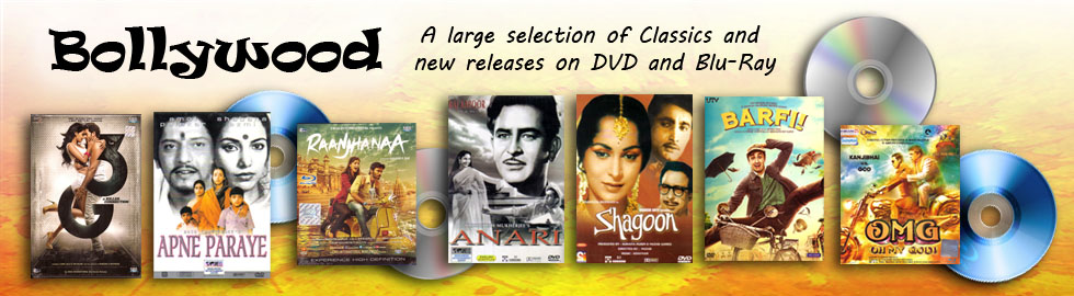 Bollywood Hindi Movies on DVD and Blu-Ray