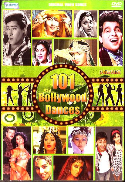 101 Bollywood Dances-3 DVD PACK
