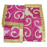 Set of Four Embroidered Rumala Saheb Cloths