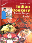 Indian Cookery Punjabi Recipes Special-150 Recipes-Quick @ Easy