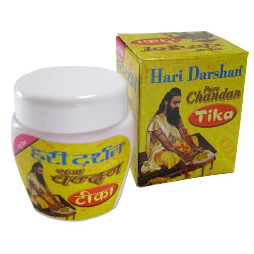 Hari Darshan Pure Chandan Tika (40 gram jar)