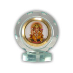 Ganesh Religious Icon Clear