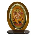 Ganesh Religious Icon Oval