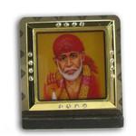 Sai Baba Religious Icon Square