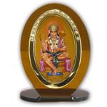 Hanuman Religious Icon Oval