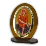 Sai Baba Religious Icon Oval