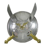 Small Kirpans with Eagle Shield Wall Decoration