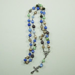 Cats Eye Stone Rosary