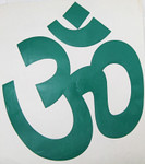 Large AUM Decal - Multiple Colors - 10 inches