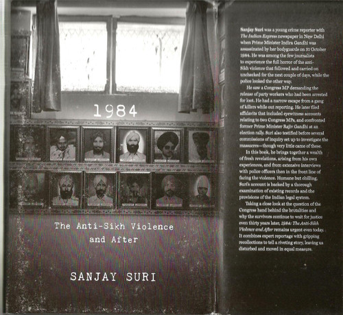 1984 The Anti Sikh Violence And After / Sanjay Suri / Book