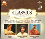 Classics-Ustad Amjad Ali Khan / Pandit Shiv Kumar Sharma / Pandit Hari Prasad Chaurasia /  MP 3