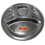 Premier Stainless Steel Plate - 12 inch diameter