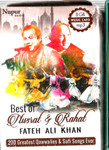 Best Of Nusrat & Rahat Fateh Ali Khan 200 Greatest Qawwalies & Sufi Songs Ever 8 GB Music Card