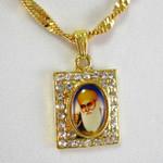 Guru Nanak Rectangle Necklace