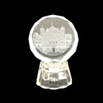 Clear Lighted Golden Temple Icon