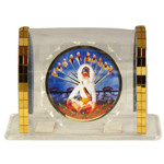 Encased 10 Guru Religious Icon