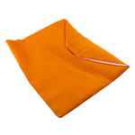 Orange Pothi Pouch 7x6 inches