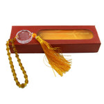 Deluxe Tassled Golden Temple Mirror Ornament