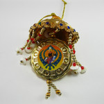 Gobind Singh with Khanda Mirror Carousel (small)