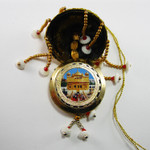 Golden Temple & 10 Gurus Mirror Carousel (small)