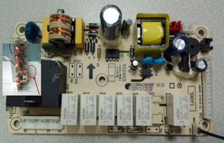 Control BOARD for ARC-12SDH/ARC-12DHP/ARC-14SH