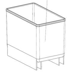 External Water tray for BBR-801BG/BWR-331SL/FWC-1201BB/BWR-33SD