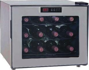 Haier 12-Bottle Capacity Thermoelectric Platinum Wine Cellar - HVUE12BSS