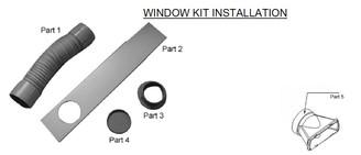 Whynter ARC-13S/W Window Setup Set