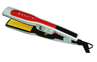 WHYNTER Professional Digital LCD Ceramic Hair Straightener- Red