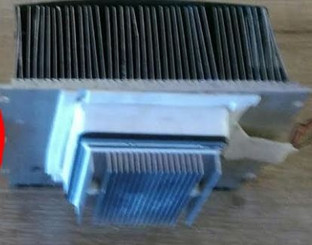 Heat sink / cooling system for WC-28S/WC-282TS ver.0