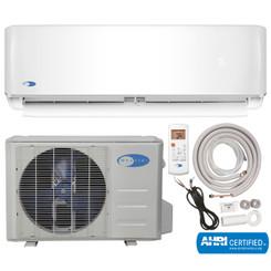 MSFS-012H23017-01NE Whynter Mini Split Inverter Ductless Air Conditioner System & Heat Pump Full Set SEER 17 12000 BTU 230V
