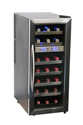 Whynter 21 bottle Dual Zone Wine Cooler