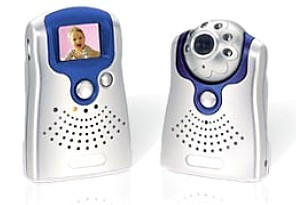 WHYNTER 2.4GHz Wireless Color Video Baby Monitor
