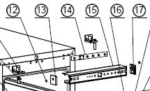 Whynter BWR-33SD Part 15 Top Panel Insert