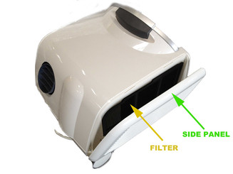 Whynter ARC-13W Side Panel Left (Front View)