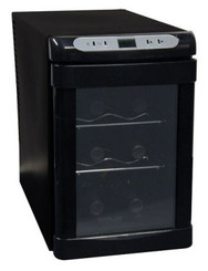 Haier Up to 6-Bottle Capacity Thermoelectric Wine Cellar - HVUEB06BBB