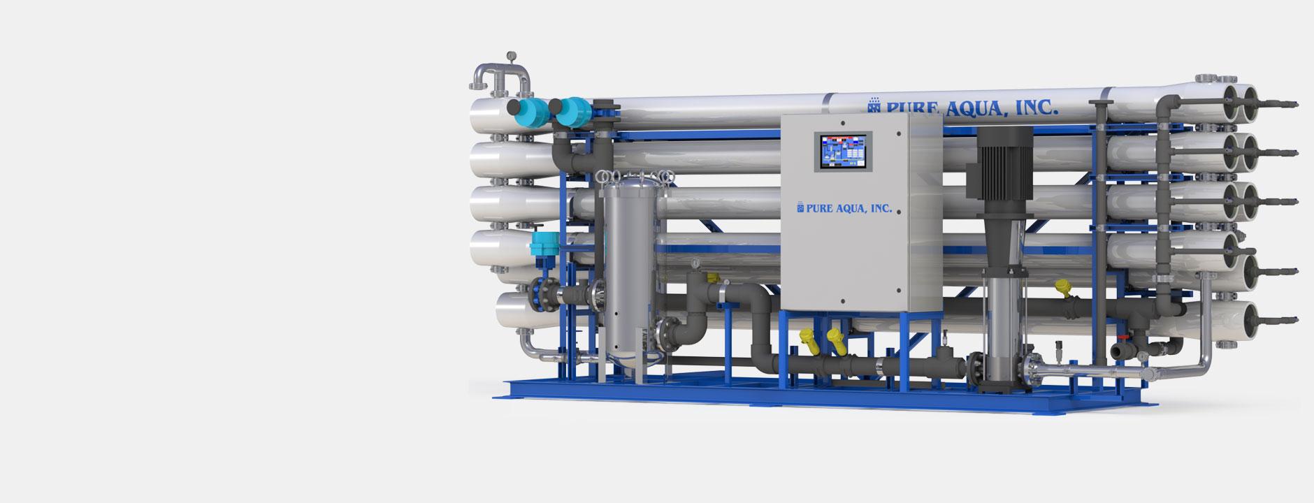 industrial reverse osmosis systems أنظمة التناضح العكسى الصناعية و التجارية