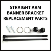 Standard Banner Bracket Replacement Parts Kit