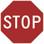 SKU# X-SIGN-R1-1 STOP SIGN
