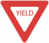 X-SIGN-R1-2 Yield Sign Complete
